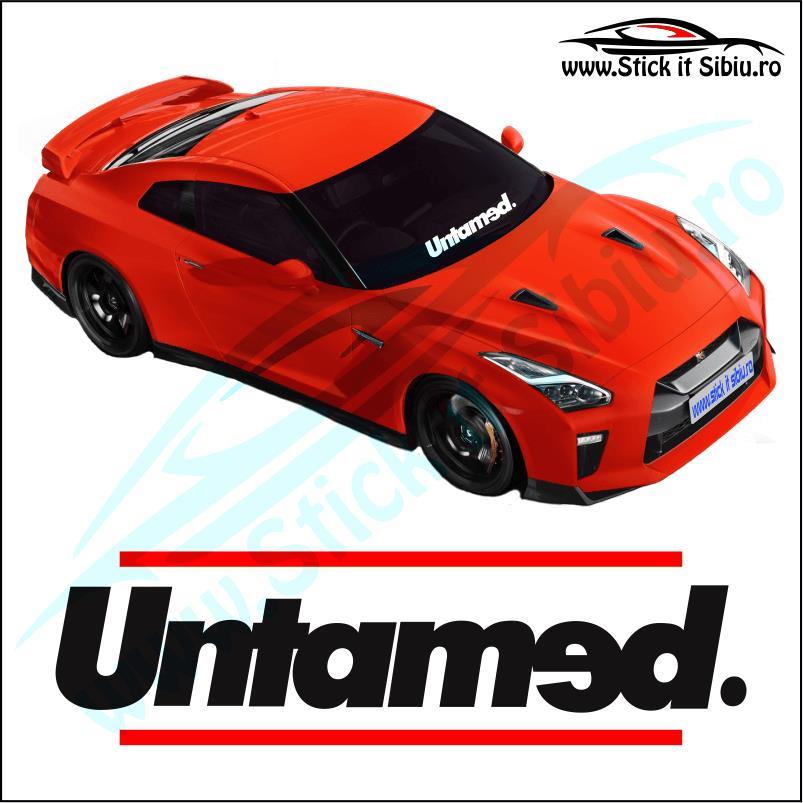 Sticker Parbriz-UNTAMED - Stickere Auto