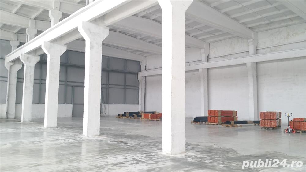 Spatiu industrial de inchiriat 1350 m2 - 3,5 Eur/m2