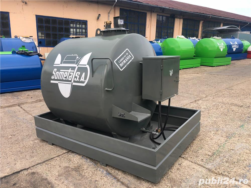 Rezervor motorina 3000 litri cu pompa
