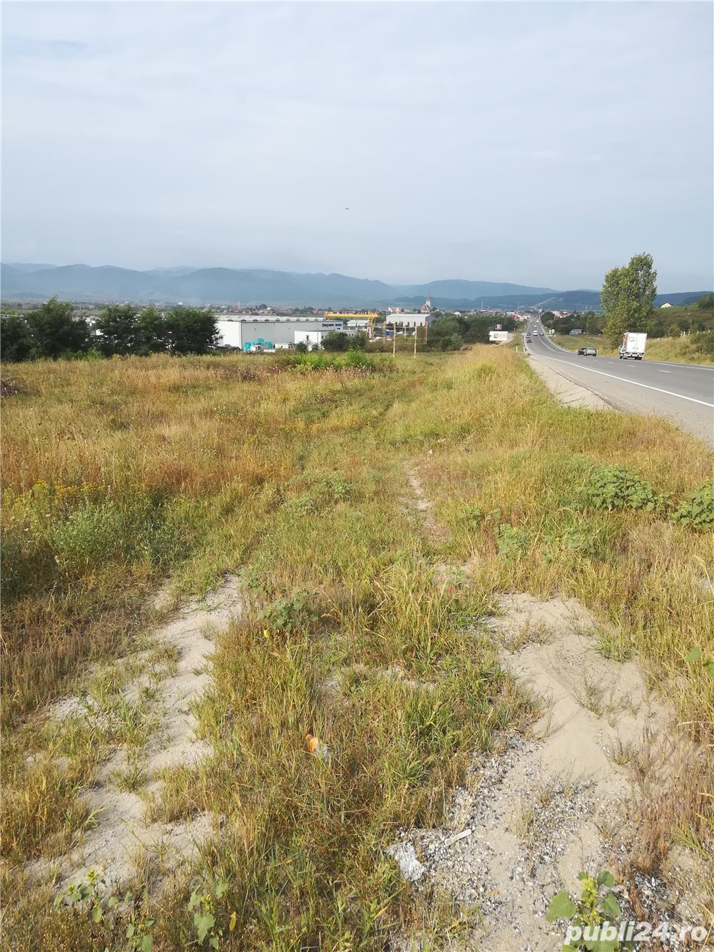Teren Sibiu, intravilan industrial la DN 1