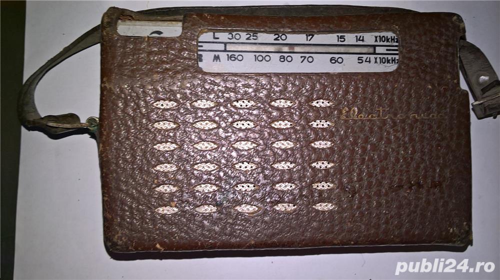 Aparate radio cu lampi si tranzistori