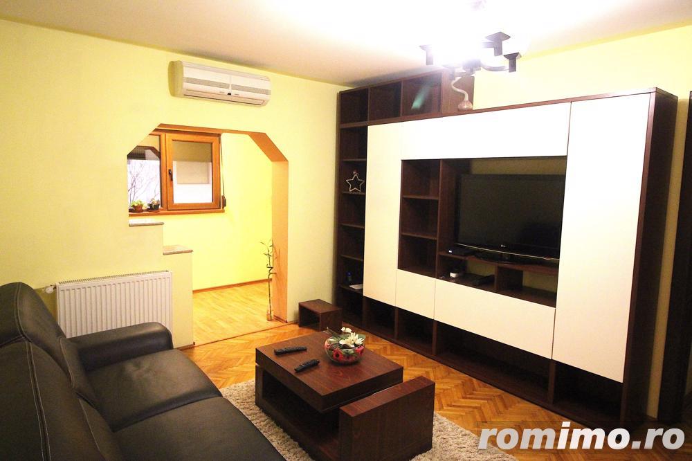Apartament complet mobilat si utilat 2 camere + 1 birou