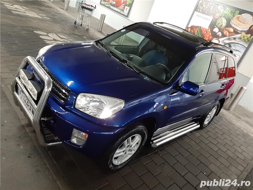 Vand Toyota Rav 4 II benzina 152 CP, 1998 cmc,Blue edition