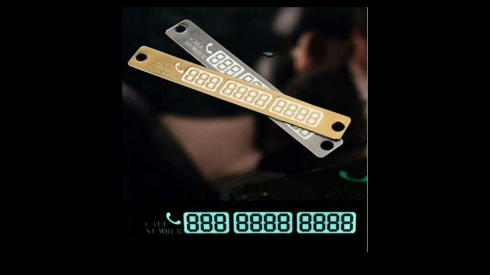 Placuta numar telefon pentru auto parbriz/luneta.