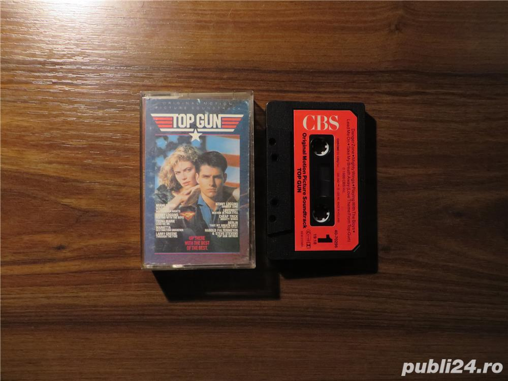 Caseta audio originala Top Gun - Coloana sonora