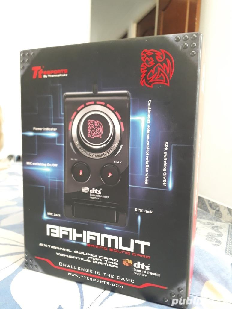 Placa de sunet Gaming Tt eSPORTS by Thermaltake BAHAMUT