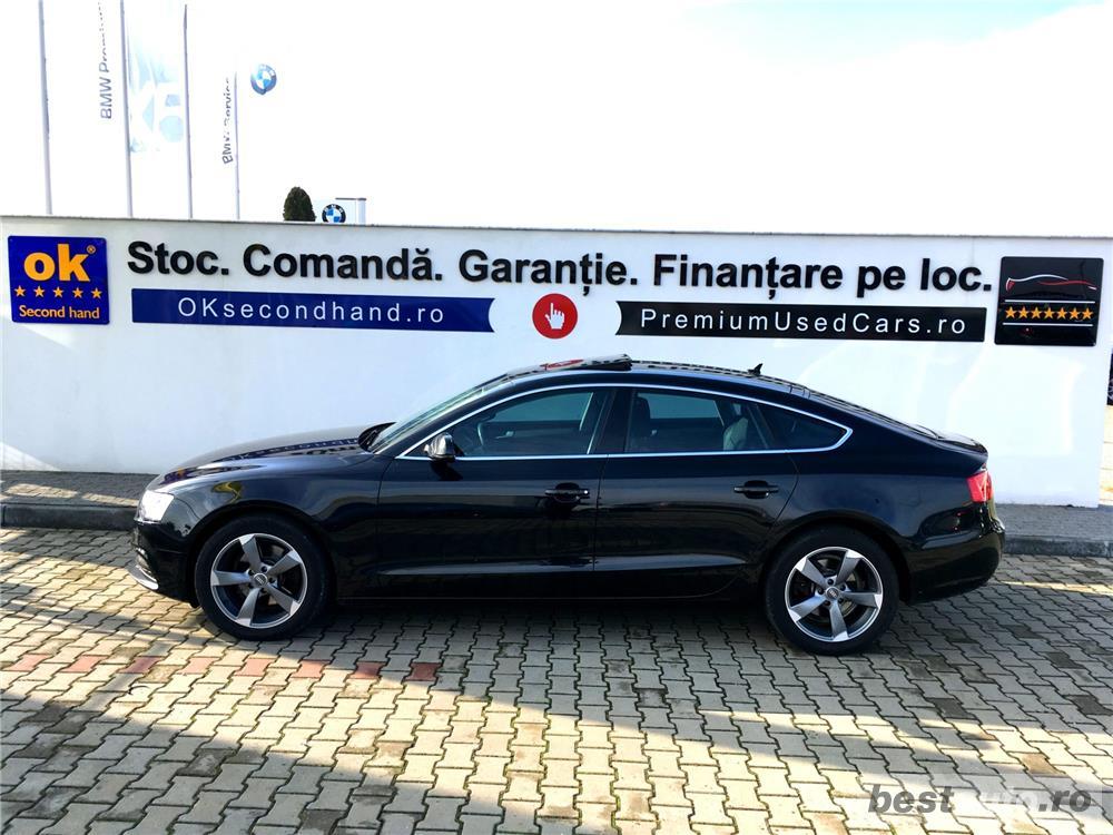 Audi A5 | 2.0 D | AT8 | Trapa | Camera | Xenon | Scaune Incalzite | Dublu Climatronic | 2013