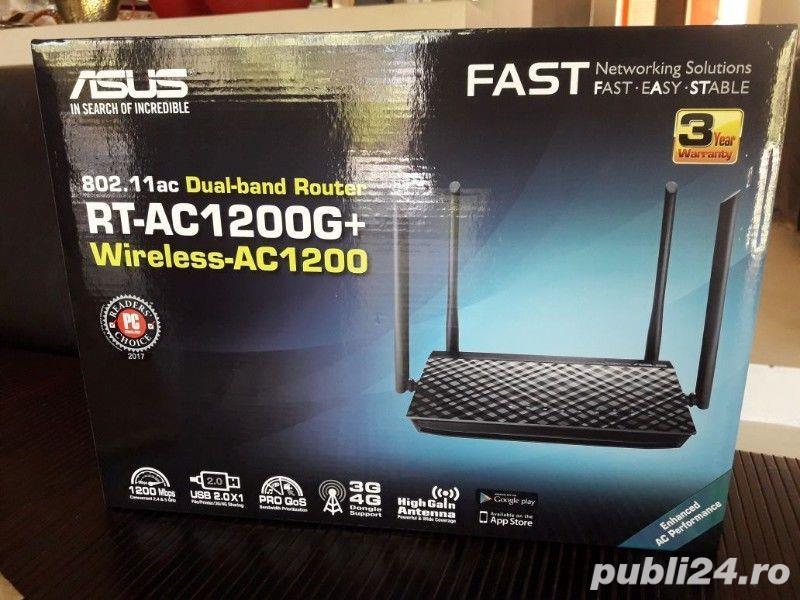 Router ASUS AC1200G Plus, Dual-Band, Gigabit