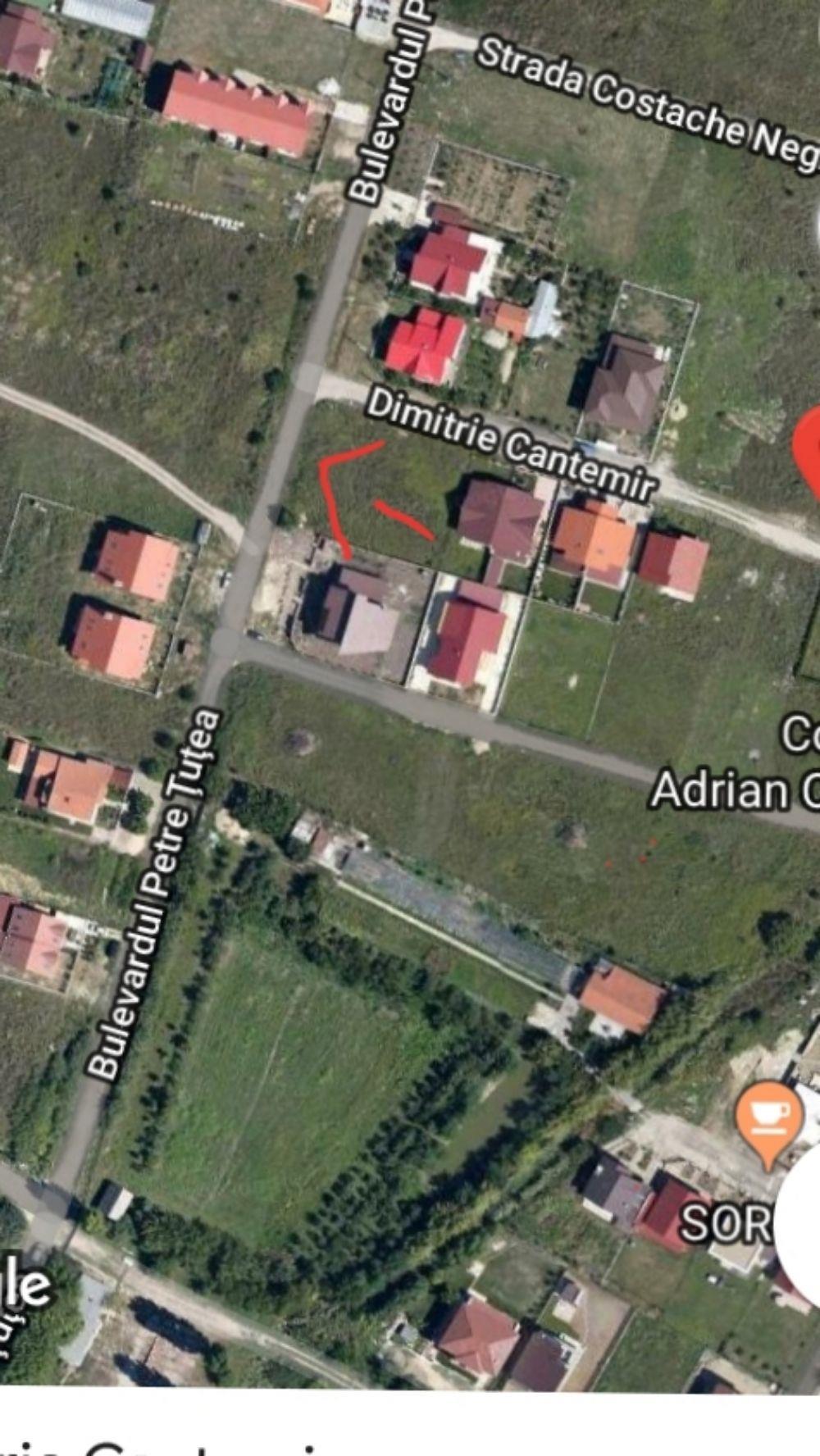 Teren intravilan în Dumbrăvița