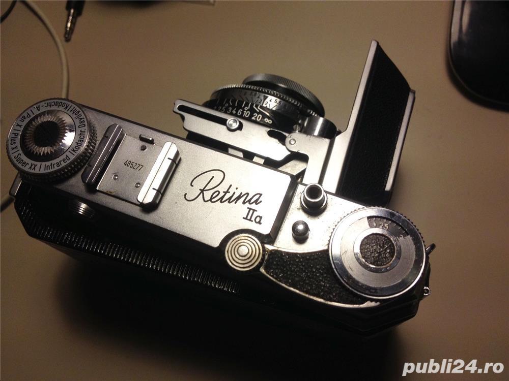 Kodak RETINA II, aparat foto alb-negru cu film