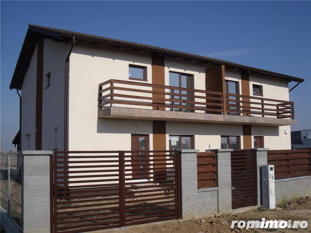 BA031 1/2 Duplex in Chisoda, zona rezidentiala, toate utilitatile
