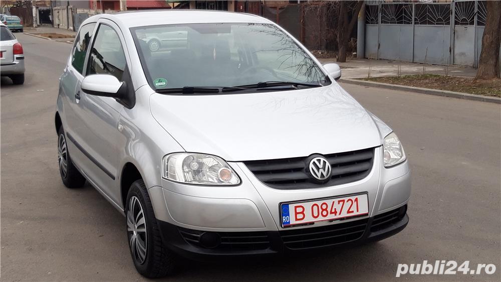 Volkswagen Fox 2006, 1.4 Tdi, Ac, IMPECABILA, Import Germania