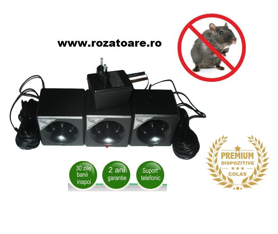 Aparat Industrial Ultrasonic 1200 impotriva soarecilor si sobolanilor