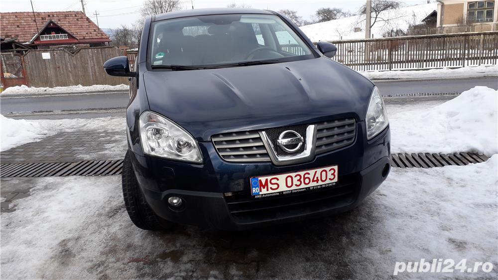 Nissan qashqai 4x4,înmatriculat -Schimb cu Seat Ibiza combi sau Skoda Rapid dupa anul 2012