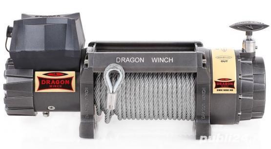 Troliu rapid Dragon Winch Highlander DWH 9000HD (trage 4082kg)
