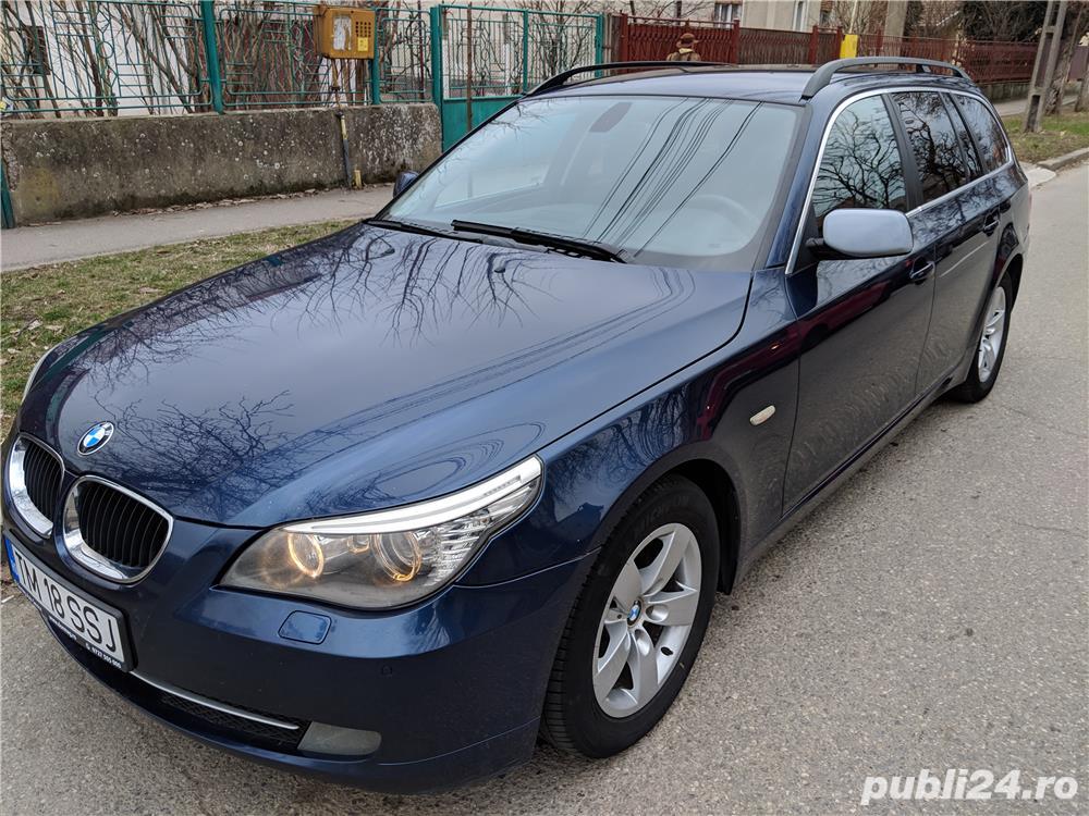 BMW 520d E61 LCI, 163CP, 350Nm, Euro 4, 2008,Distributie schimbata reprezentanta BMW
