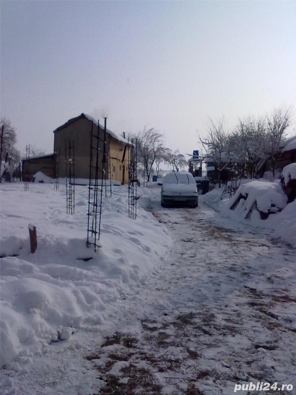 Vând  urgent teren pregătit pentru construcție  în Ghimpați/ Răcari la 35 de km de București