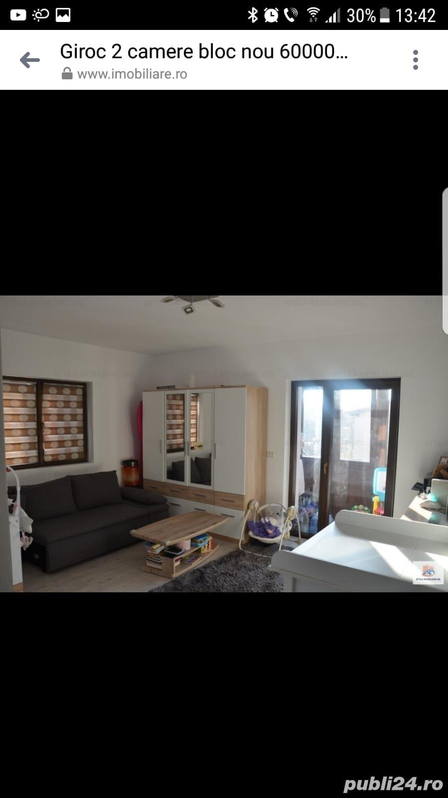 Proprietar vand apartament cu 2 camere in Giroc - nu se accepta credit