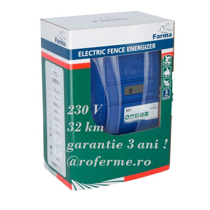 Aparat gard electric M1- 1,5 J \ 32 km, 230V, 3 ani garantie