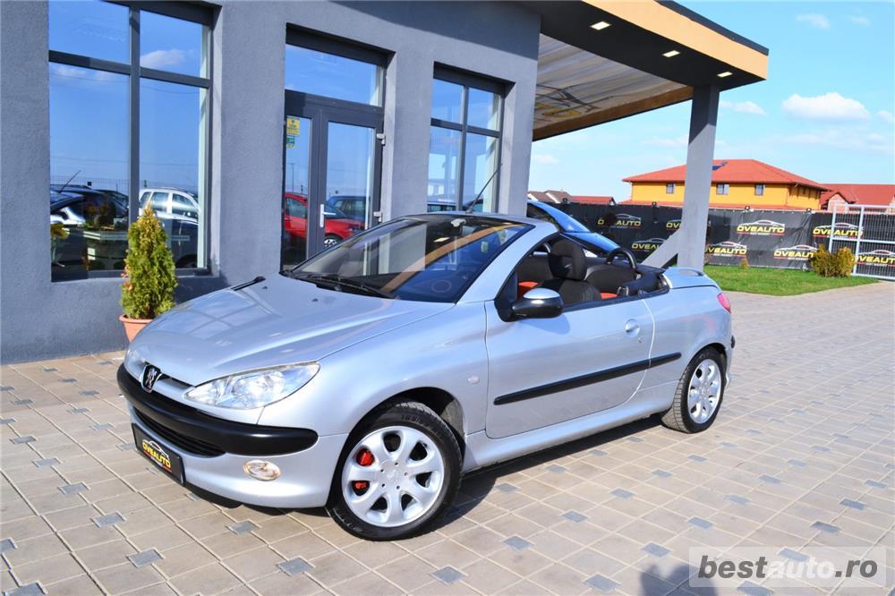 Peugeot 206 CC = avans 0 % rate fixe = aprobarea creditului in 2 ore = autohaus vindem si in RATE