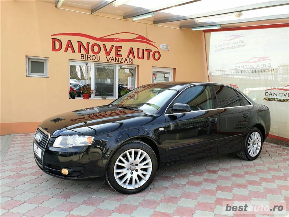 Audi A4,GARANTIE 3 LUNI,AVANS 0,RATE FIXE,motor 2000 TDI,140 CP,Navigatie/GPS,Full piele