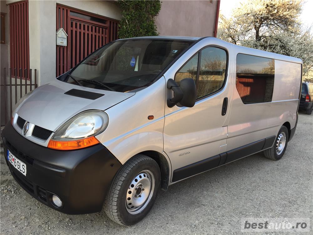 Renault trafic combi,L2H1,5 locuri