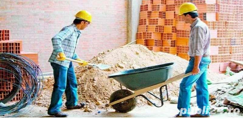 Angajam muncitori calificati si necalificati
