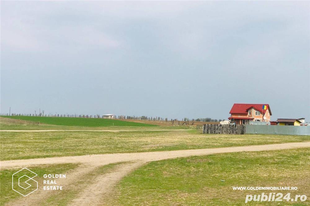 Teren intravilan, Horia, 1418 mp, împărțit în trei parcele