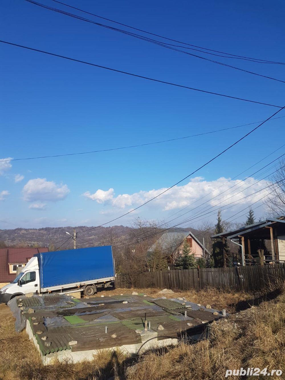 Teren 300 mp + fundatie, Breaza (plata in rate pe 5 ani)