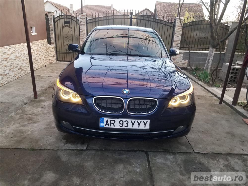 BMW 520d facelift/177cp/automata/joystick/piele/2008