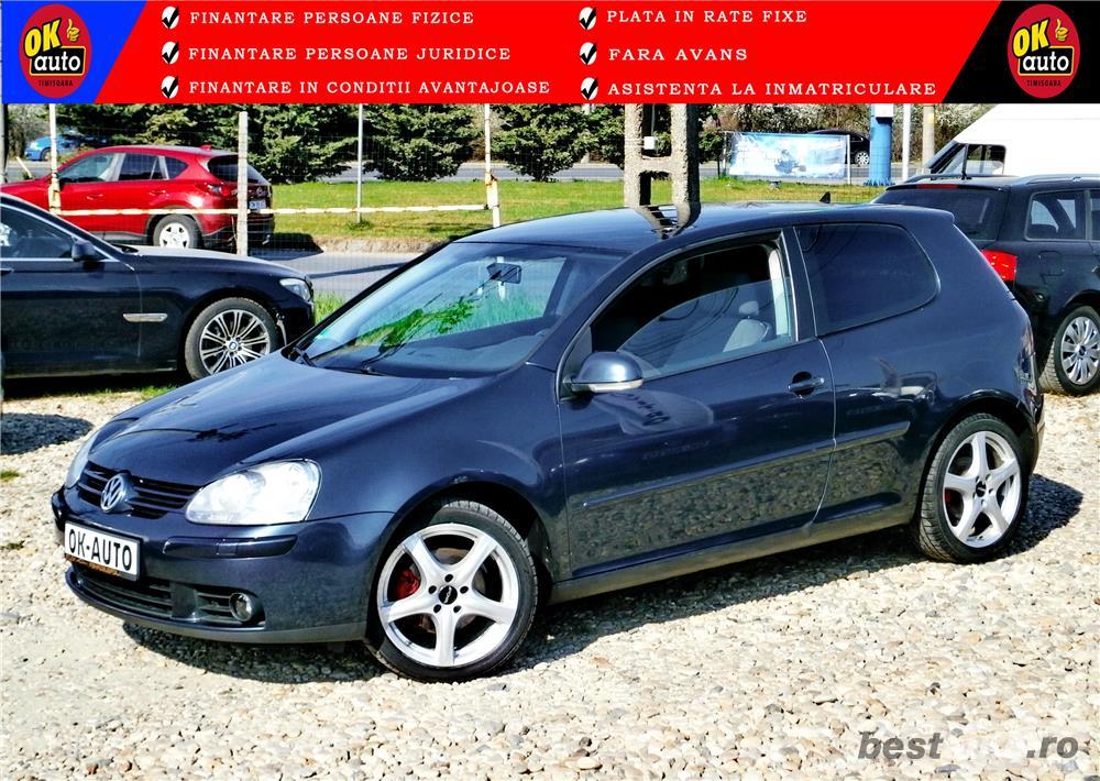 "VW GOLF 5 ""Sport Edition"" - 2.0 TDIvanzare in RATE FIXE cu avans 0%."