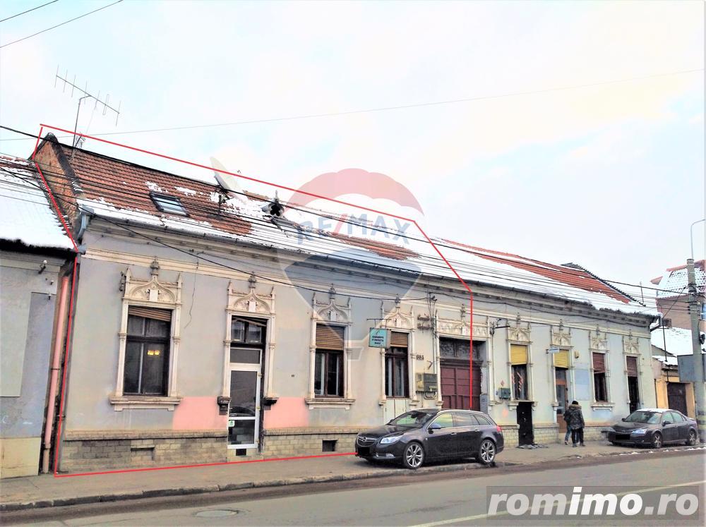 Central, cladire [demolabila] cu teren generos pe str. Sucevei
