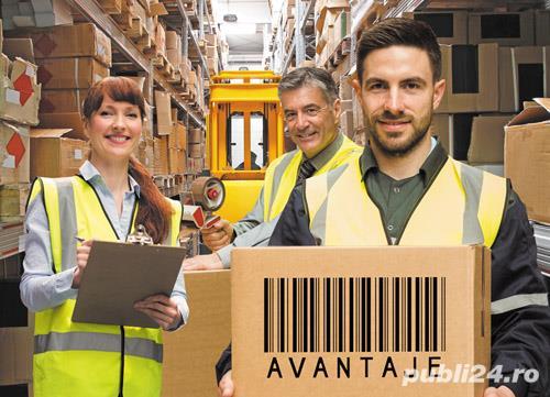 Lucrător Gestionar - Depozit de Logistică