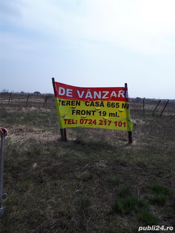 Privat vand 2 terenuri de casa Dumbravita Lac cu acess betonat la Centura  Est langa DAB-IT