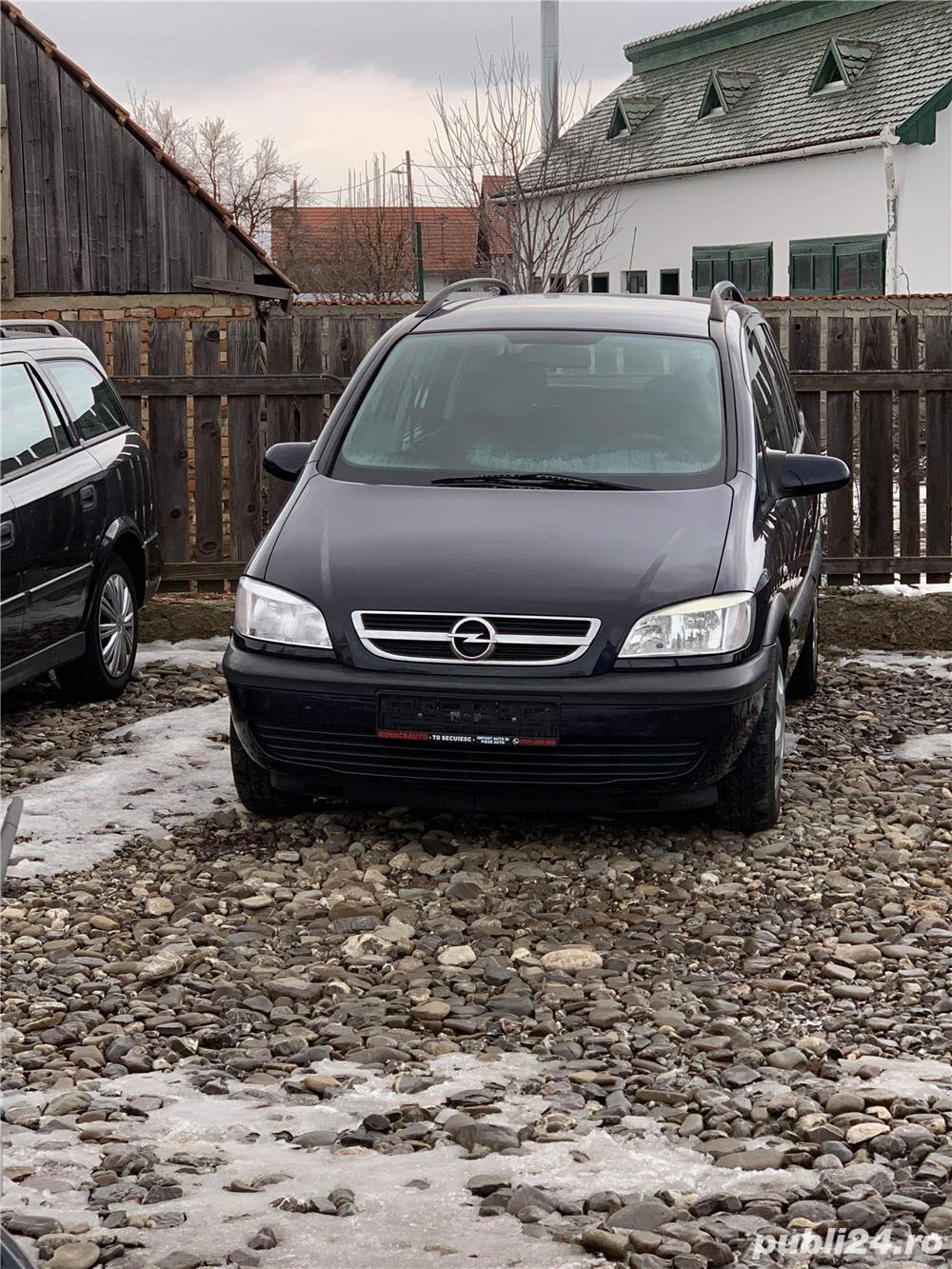 Opel zafira 1600,16v