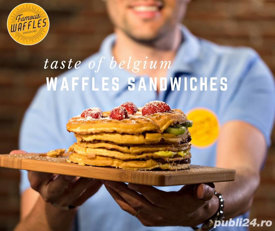 Angajam Vanzator-preparator Waffle-Iulius Town si Dumbravita (parcare Kaufland)