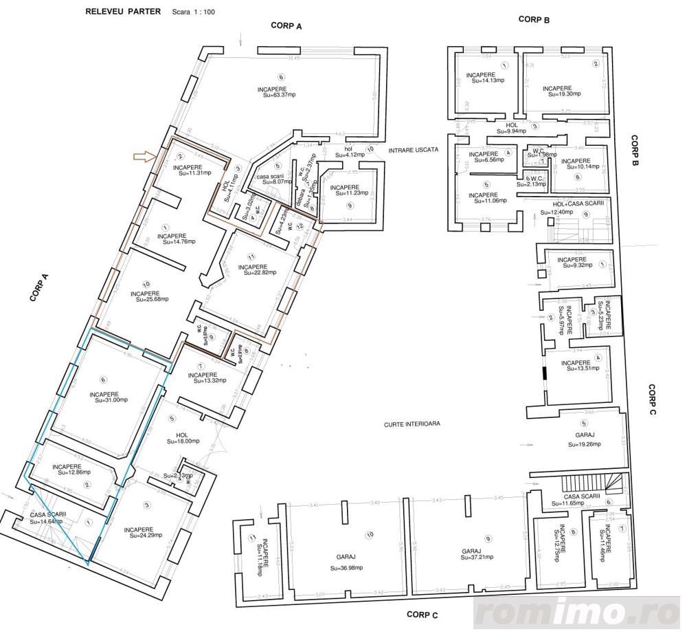 Odobescu-Maternitate,  spatii comerciale/birouri cu suprafete intre 44-200 mp