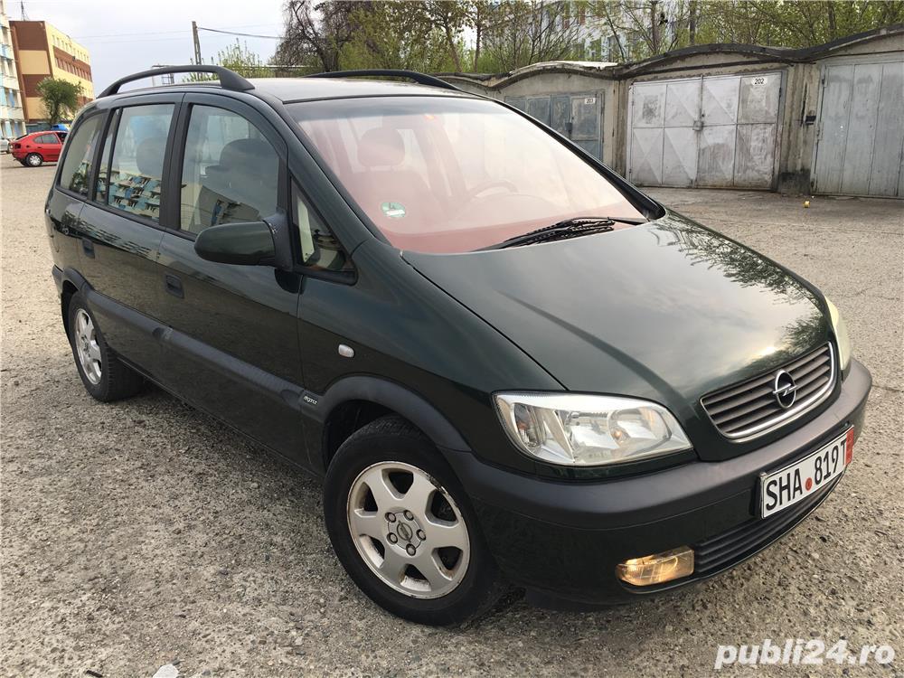 Opel zafira 1,8i klima 7 locuri