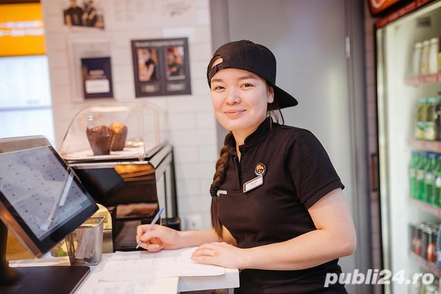 Fara experienta - Casier Restaurant Fast-Food! 2500 lei