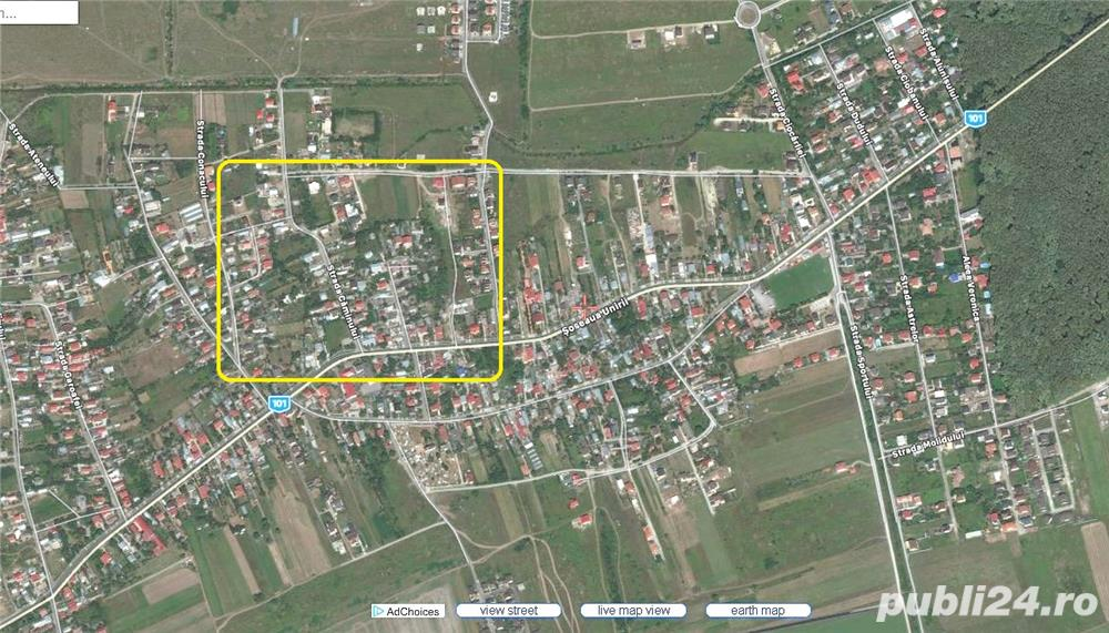 CORBEANCA - Sat Tamasi (Str. Conacului) vanzare 3.800 mp. teren intravilan