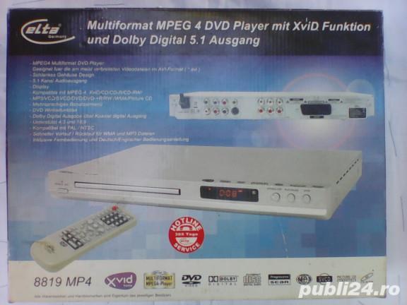 Schmb,vând Dvd elta nou,telecomanda,în cutie 80 lei.