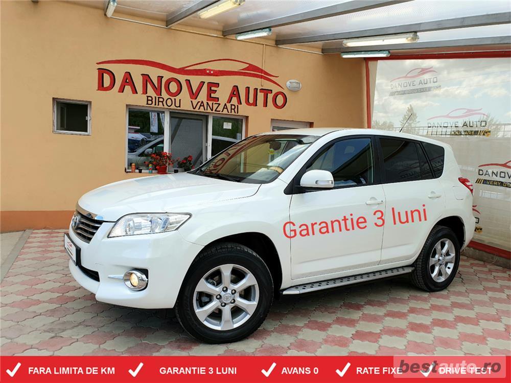 Toyota rav4,GARANTIE 3 LUNI,AVANS 0,RATE FIXE,Motor 2200 TDI,150 CP,Transmisie 4x4