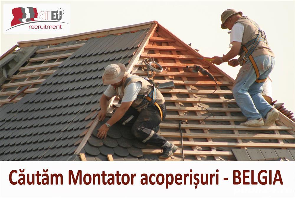 Montatori acoperisuri - angajare in Belgia!