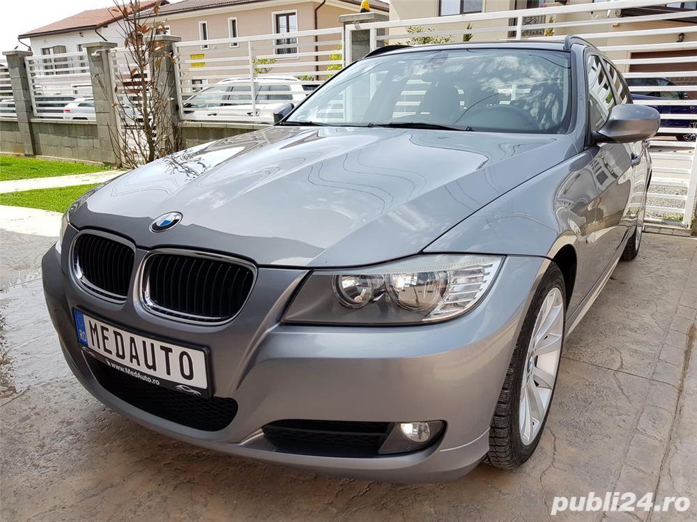 BMW 320D, an 2010, 163 CP, Euro 5, Piele, Navi, TVA inclus