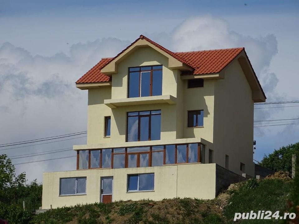 Casa S+P+E,6 camere,240 mp,zona Dealuri,teren 640 mp,semifinisata,