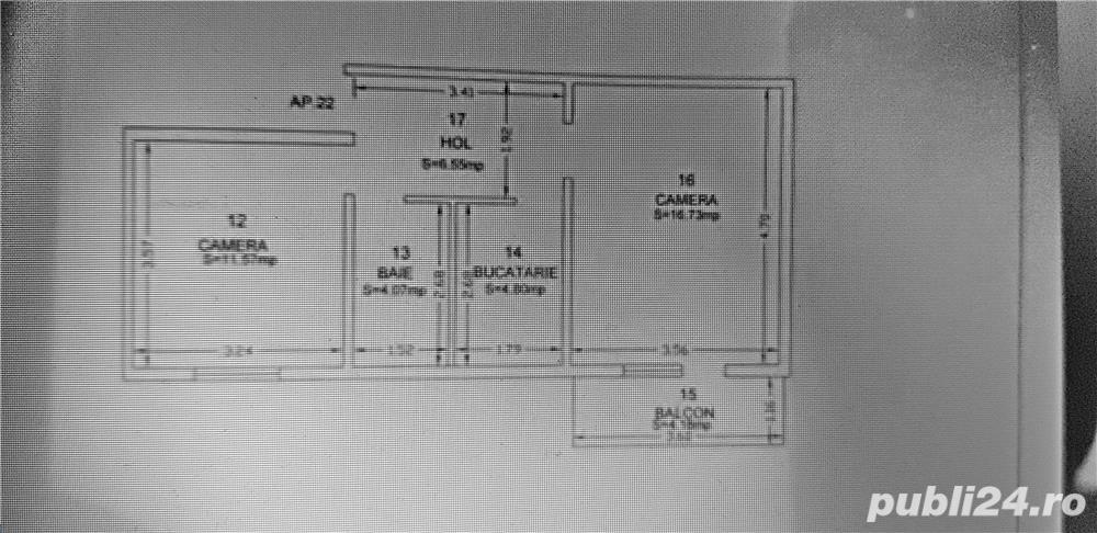 2 camere mansarda mall, complex sau lipovei
