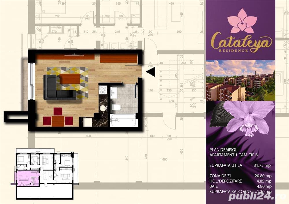 Apartament 1 camera, Bucium, bloc nou, direct la dezvoltator, comision 0%