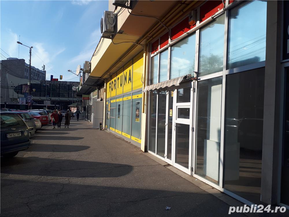 Spatiu comercial, Gara de Nord Timisoara, vitrina