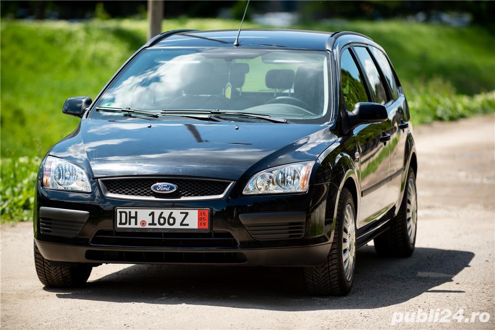 Ford focus-1.6 benzina-2007-impecabila