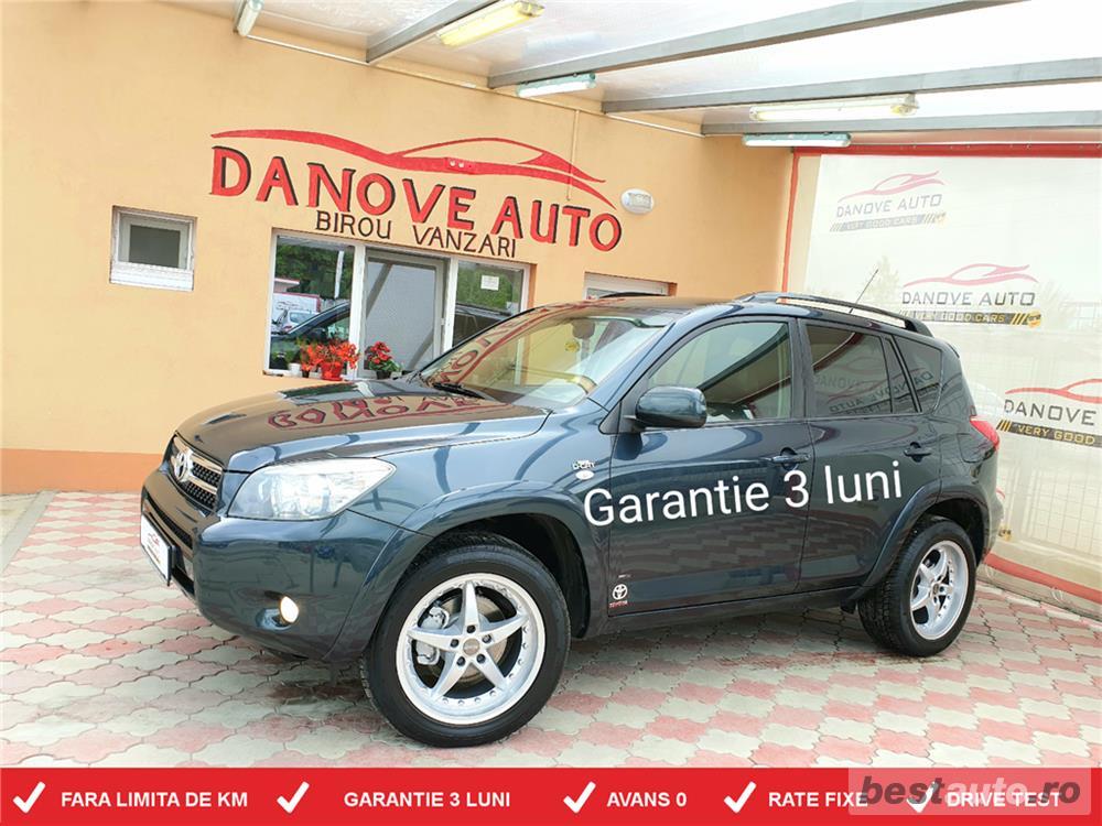 Toyota rav4,GARANTIE 3 LUNI,AVANS 0,RATE FIXE,Motor 2200 TDI,177 Cp,Navigatie/GPS,4x4